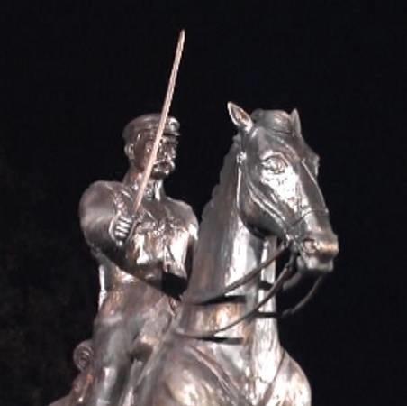 Oficjalne odsłonięcie pomnika marszałka Józefa Piłsudskiego było kulminacyjnym momentem dzisiejszego święta.