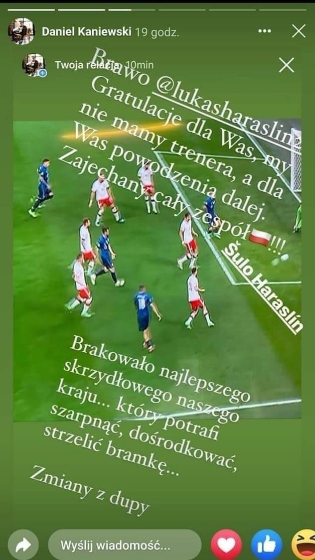 Euro 2020. Agent Grosickiego krytykuje Paulo Sousę: Nie mamy trenera, zmiany z d*upy
