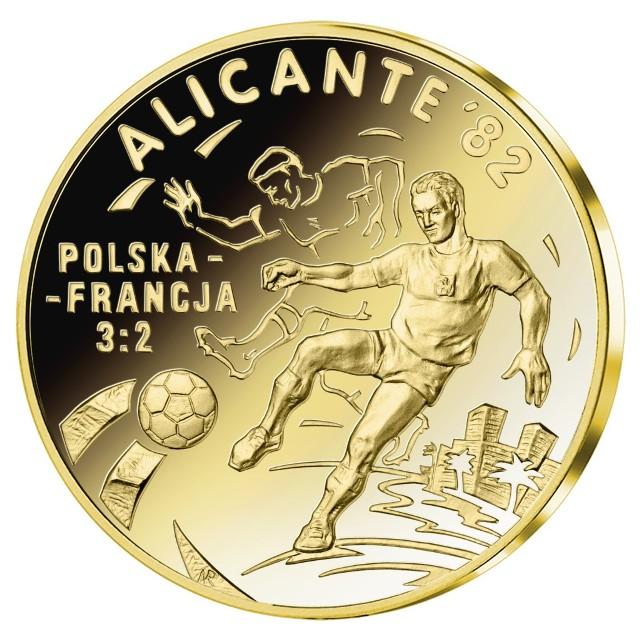 Do wygrania medal platerowany 24-karatowym złotem!
