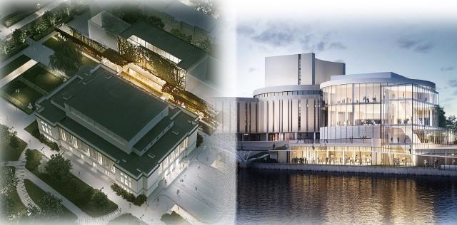 Rozbudowa gmachów Filharmonii Pomorskiej oraz Opery Nova w Bydgoszczy - uchwały dotyczące finansowania tych inwestycji mają zostać przyjęte 26 kwietnia 2021 r. podczas sejmiku samorządu województwa kujawsko-pomorskiego