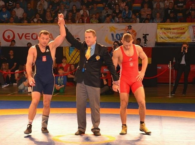 Krystian Brzozwski znów nie miał konkurencji i wygrał wszystkie walki.