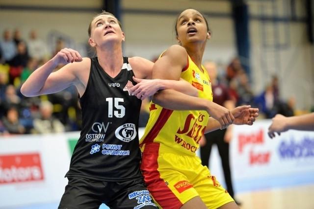 Kourtney Treffers (z prawej) zagrała pierwszy raz po długotrwałej kontuzji