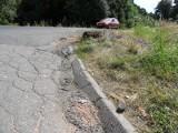 Wypadek Orzesze: Ten wypadek mógł spotkać doświadczonego kierowcę [WYPADEK ORZESZE ZDJĘCIA]