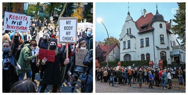 Protest kobiet w Szczecinie - 25.10.2020