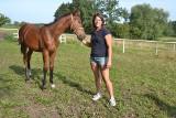Joannę Paszyńską z Wielgiego konie fascynowały od dziecka. Z czasem stały się sposobem na życie [zdjęcia]