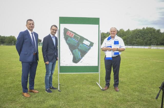 Nowy kompleks sportowy będzie służył zarówno mieszkańcom jak i piłkarzom mieleckiej Stali.