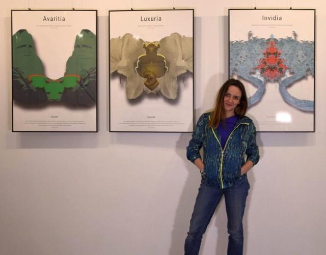 Monika Tekielska-Chmielewska swoje prace pokaże 4 kwietnia w Galerii Parter Książnicy Podlaskiej