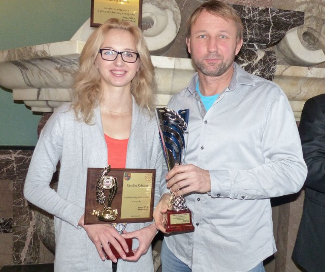 Trener Andrzej Mirek opowiedział nam o współpracy ze swoją podopieczną - olimpijką Karoliną Kołeczek.