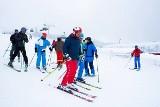 Prezydent Andrzej Duda dzisiaj na nartach w Wiśle na Cieńkowie. Miłośnik narciarstwa skorzystał z otwartych stoków w Beskidach