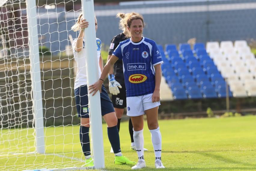 Australijka Caitlin Jarvie popisała się przepięknym golem dla drużyny TME Grot SMS Łódź