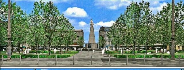 Wiele emocji wzbudziła sprawa placu Wolności w Łodzi, na którym – w ramach przebudowy – pojawi się ponad 60 drzew.