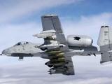 Amerykańskie samoloty A-10 Thunderbolt II Warthog nad Szczecinkiem