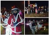 Mikołaj przyleciał do Białegostoku na paralotni. Czekały na niego tłumy mieszkańców (ZDJĘCIA, WIDEO)