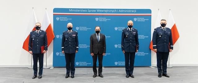 Minister Mariusz Kamiński powołał nowego zastępcę komendanta głównego policji oraz dwóch nowych komendantów wojewódzkich policji