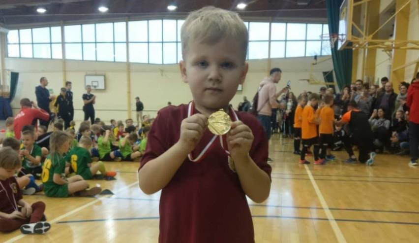 Siedmioletni Bartek miał sporo zapału do sportu.