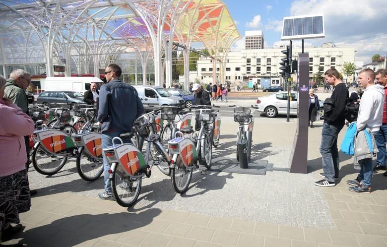 Cztery firmy chętne na poprowadzenie roweru publicznego w Łodzi. Wszystkie oferty za wysokie...