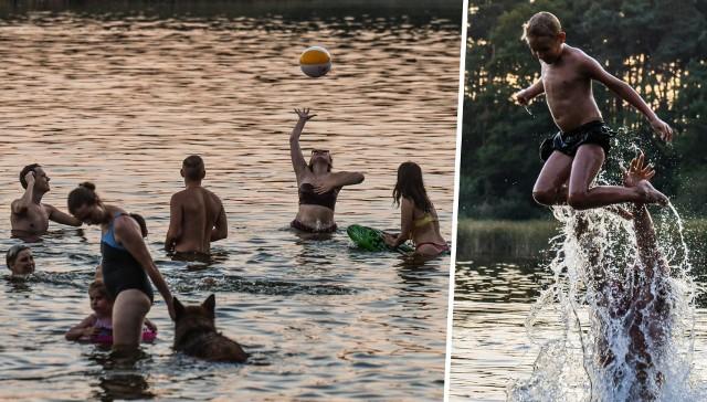 Piątek, 21 sierpnia, był jednym z najgorętszych dni tego lata. Wielu bydgoszczan szukało ochłody w Prądocinie nad jeziorem Jezuickim. Pod koniec dnia na plaży było jeszcze sporo osób. Niestety żegnamy piękną letnią aurę. W sobotę przez Polskę przetoczy się front burzowy i się ochłodzi. Zobacz zdjęcia - przesuń zdjęcie gestem lub naciśnij strzałkę w prawo.