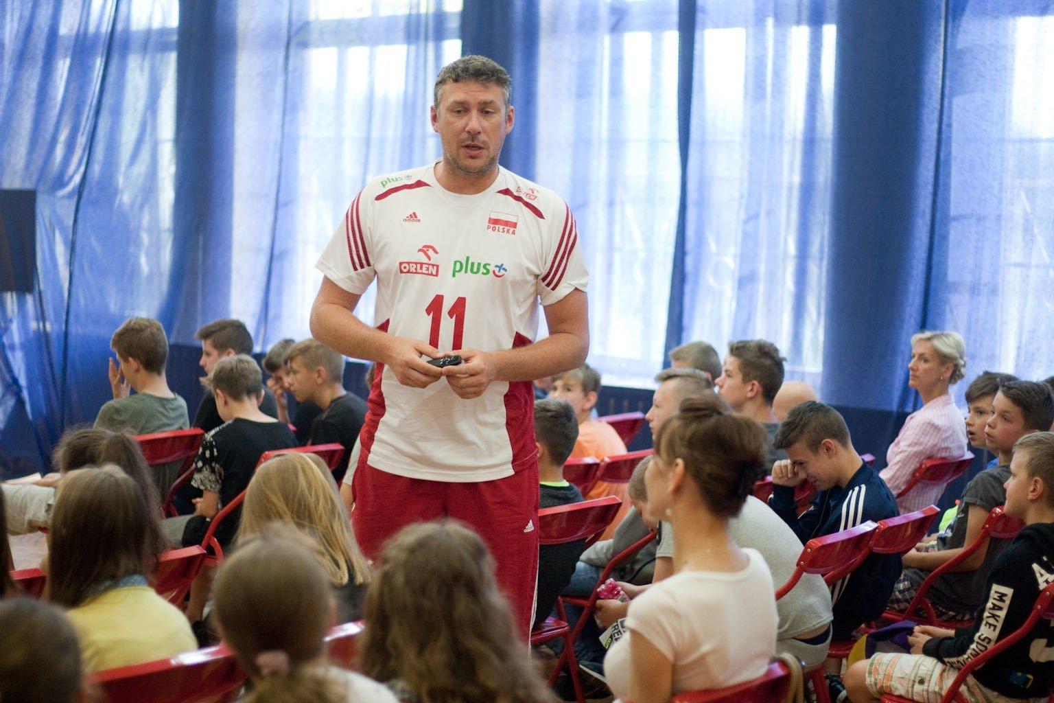 Mistrz świata Marcin Prus gościł w Szkole Podstawowej nr 2 w