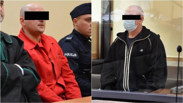 Wojciech W. (po lewej)  i Tadeusz G. zostali skazani przez tarnowski sąd na kary dożywotniego więzienia