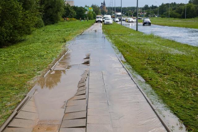 Ogromne zniszczenia w wyniku majowych ulew w województwie świętokrzyskim mogłyby być jeszcze większe.
