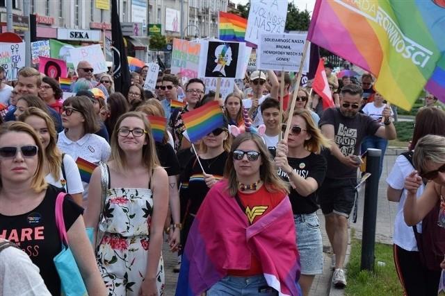 Marsz równości znów przejdzie ulicami Częstochowy. Manifestujący chcą wystartować spod Jasnej Góry