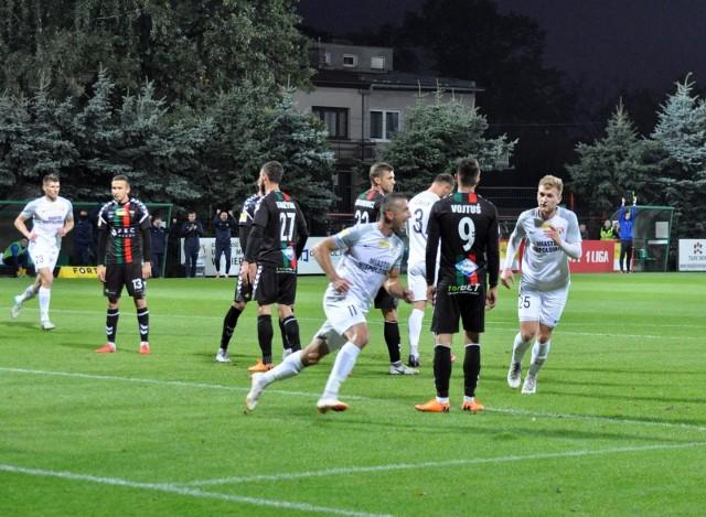Fortuna 1. Liga: Puszcza Niepołomice - GKS Tychy 1:0.
