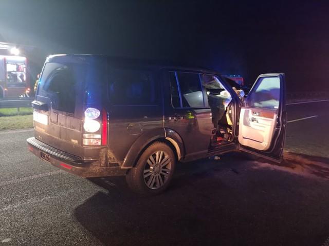 Zderzenie samochodu z łosiem miało miejsce na autostradzie A1 koło Łodzi, w piątek przed północą.ZOBACZ ZDJĘCIA >>>>Uwaga na łosie na drogach w województwie łódzkim...
