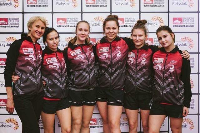 Dziewczęta z Dojlid Białystok w rundzie zasadniczej I ligi zajęły trzecie miejsce, ale po barażach awansowały do ekstraklasy