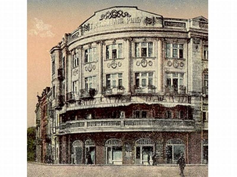 Tak wyglądał Hotel Ritz przed laty.