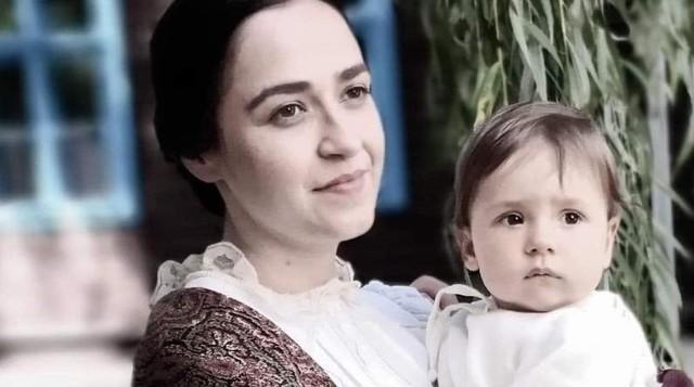 Maria Gudejko zagrała żonę Józefa Piłsudskiego, Aleksandrę Szczerbińską.