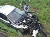 Tragiczny wypadek na autostradzie. Nie żyją dwie osoby