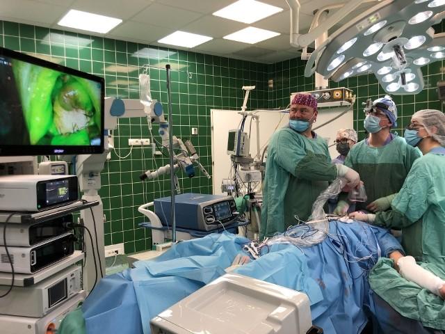 Nowatorska operacja w Szpitalu Uniwersyteckim w Zielonej Górze. A wszystko dzięki... zieleni