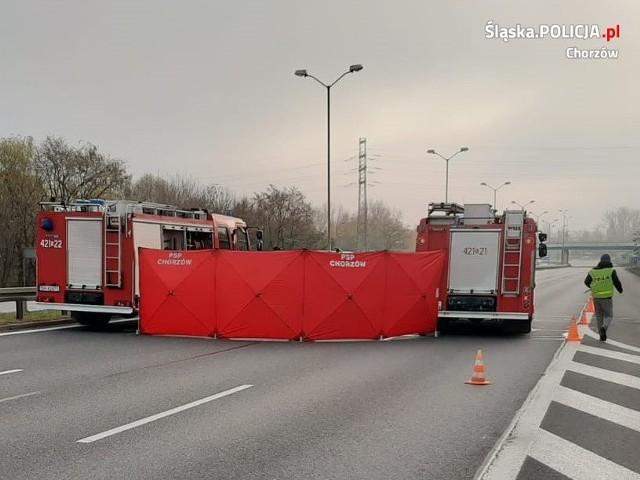 Do śmiertelnego wypadku doszło 15 listopada na DTŚ w Chorzowie