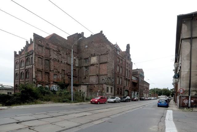 Ul. Kolumba w Szczecinie