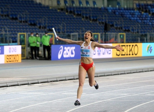 Marlena Gola ze złotym i Damian Czykier ze srebrnym medalem mistrzostw świata sztafet