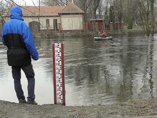 Stan wody w Drwęcy jest cały czas monitorowany