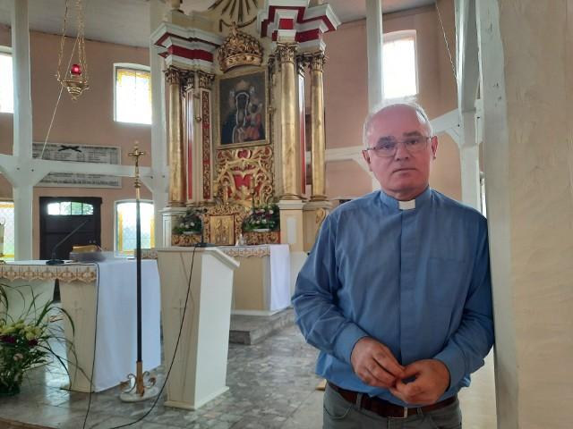 Ks. Ireneusz Mastej: W tej świątyni znajdziemy wiele detali, które mają do opowiedzenia pasjonujące historie