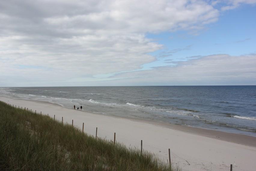 To już nie Zatoka Gdańska tylko pełne morze. Niemal ze...