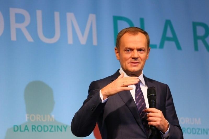 Premier Donald Tusk w Poznaniu: Od 2017 roku każde dziecko...