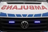 Śmiertelny wypadek pod Wrześnią. Samochód osobowy wypadł z jezdni. Nie żyje jedna osoba