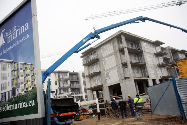 Osiedle w Lublinie Ze statystyk wynika, że średnia cena mieszkania w Lublinie oscyluje wokół 4700 zł za metr kwadratowy. Na rynku pierwotnym takich propozycji jest sporo.