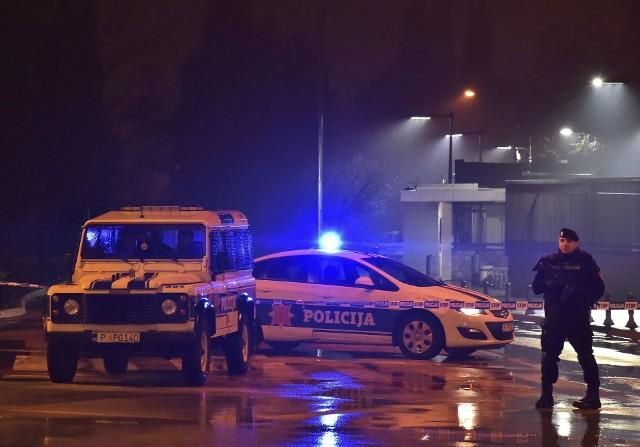 Atak samobójczy przed ambasadą USA w Podgoricy