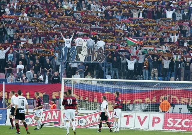Stadion przy ul. Karłowicza w tej chwili nie spełnia wszystkich norm pozwalających na organizowanie tu meczów ekstraklasy.