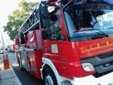 Pożar pod Koronowem. Poparzona osoba trafiła do szpitala