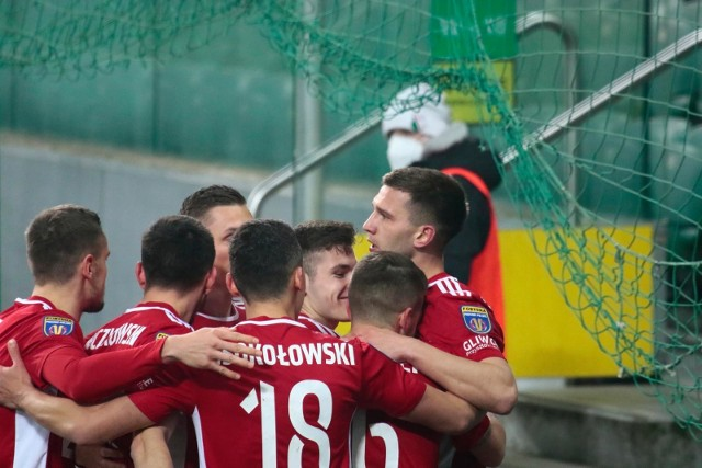 Legia Warszawa - Piast Gliwice 1:2 (0:1)