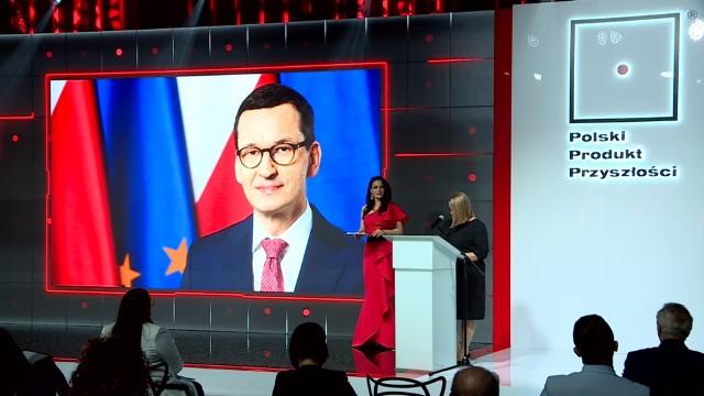 """– Konkurs """"Polski Produkt Przyszłości"""" to święto ludzi, którzy przyczyniają się do budowania naszej silnej, nowoczesnej i konkurencyjnej gospodarki – powiedział premier Mateusz Morawiecki."""