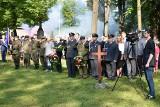Obchody 75. rocznicy Powstania Warszawskiego na Starym Cmentarzu w Olkuszu [ZDJĘCIA]