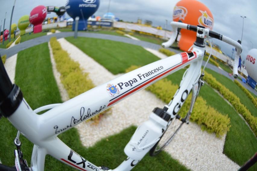 Specjalny rower dla Papieża Franciszka.