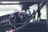 Moment wypadku autobusu na S8 w Warszawie. Zobacz WIDEO