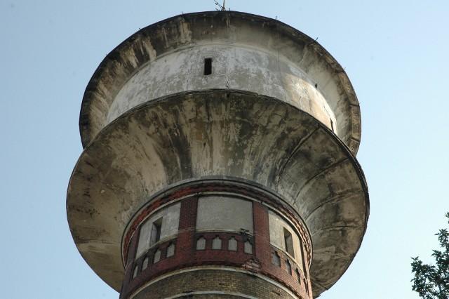 Wieża ciśnień od lat potrzebuje modernizacji. Projekt to pierwszy krok do tego, by do remontu doszło.
